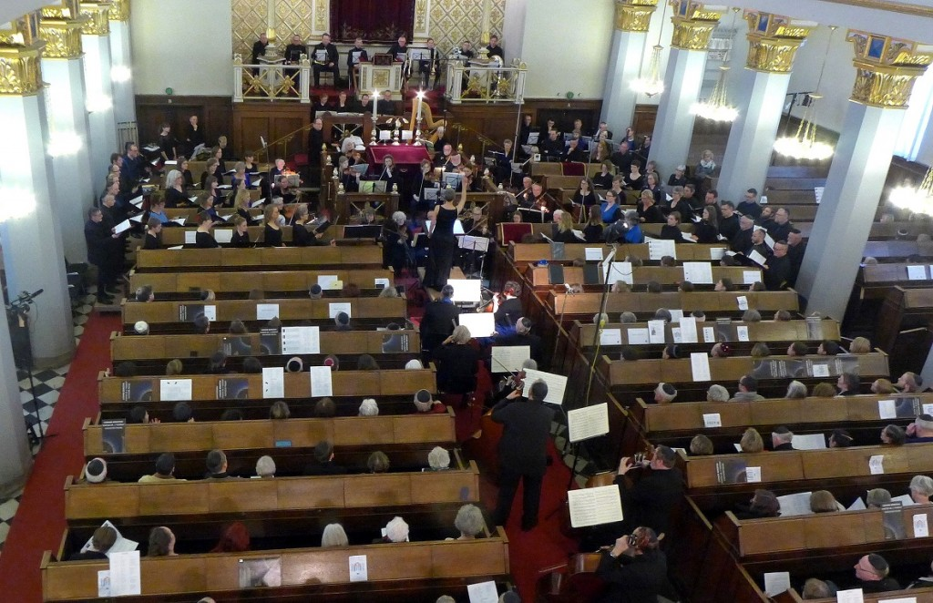 Akademisk Orkester og Kor opfører Leonard Bernsteins Kaddish i synagogen