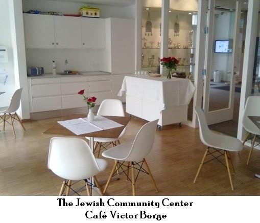 Caféen i Det Jødiske Hus