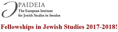 Paideia - Jødiske Studier i Stockholm 2017-2018