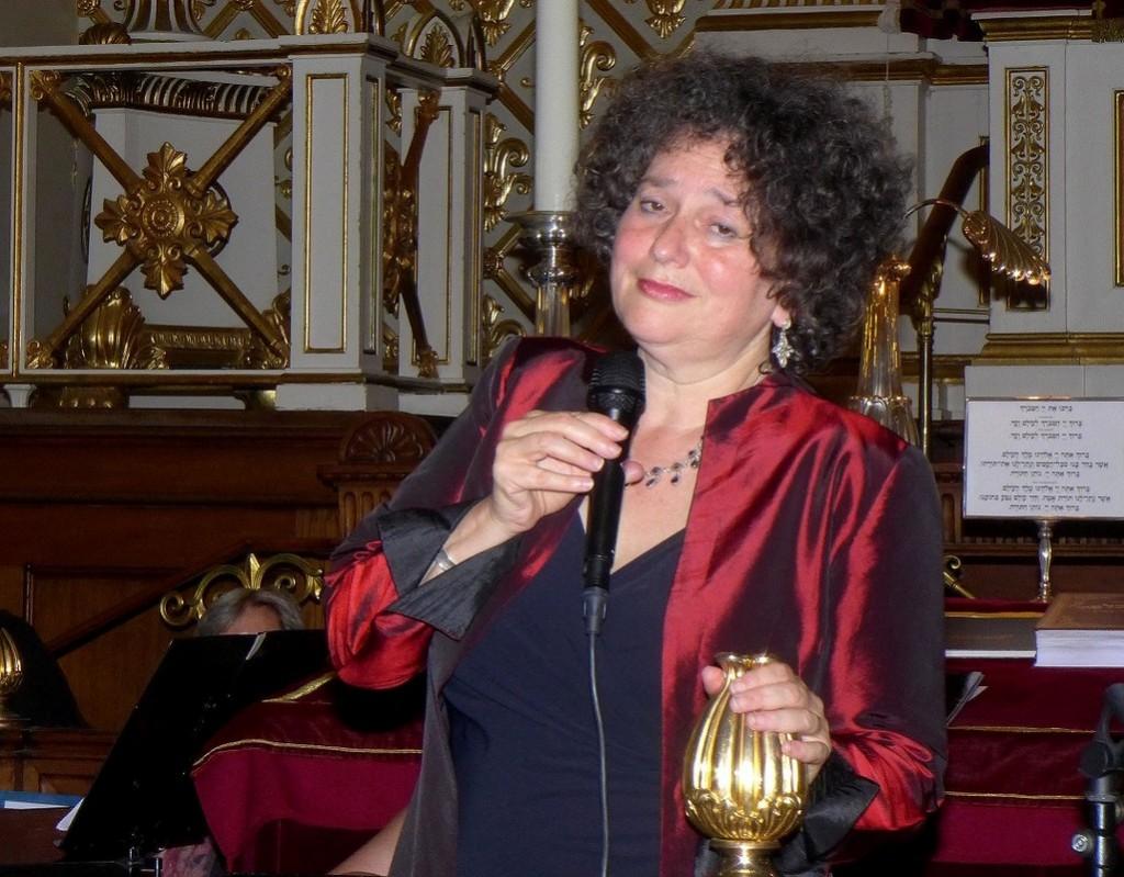 Shura Lipovsky i synagogen