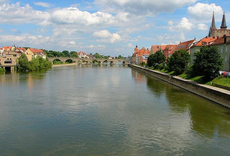 Tysklands ældste bro over Donau